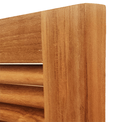 Teak wood outdoor cabinets