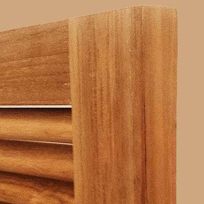 Teak wood outdoor cabinets