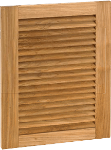 Barbecue Island doors and drawers
